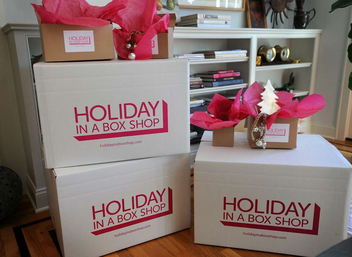 Holiday In A Box Shop in Fairfield, Conn. on Tuesday, November 22, 2016.