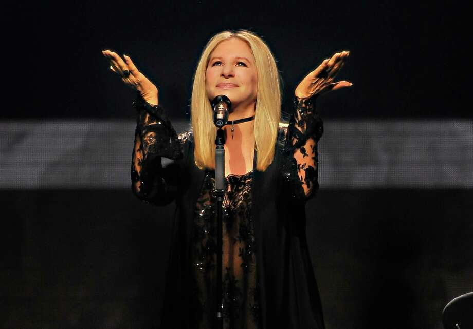 SAN JOSE, CA - AUGUST 4: Barbra Streisand performs onstage during the Barbra - The Music... The Mem'ries... The Magic! Tour at SAP Center on August 4, 2016 in San Jose, California. Photo: Steve Jennings, Stringer / online_yes