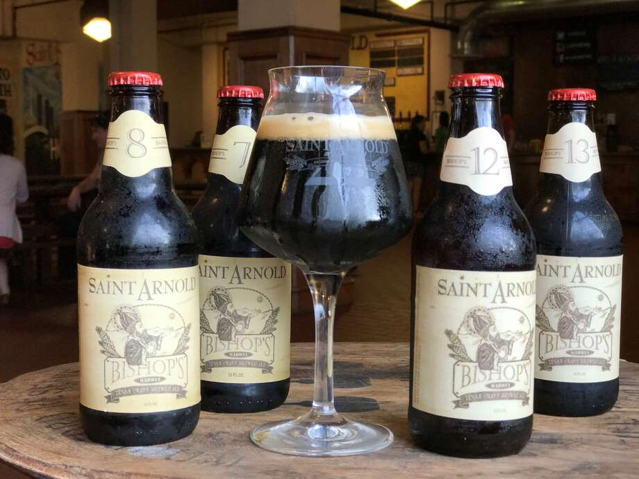 Spec's will offer a collection of Saint Arnold Bishop's Barrel Nos. 1-13 on Black Friday. The collection comes with a teku glass.