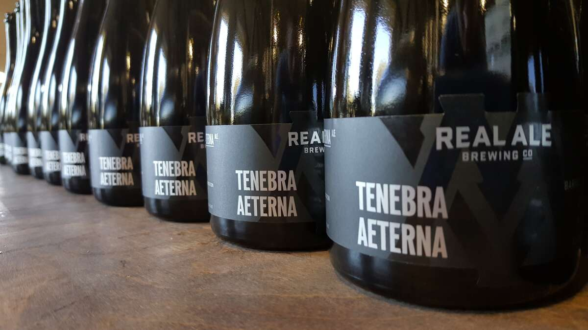 Real Ale Tenebra Aeterna is the first packaged offering from the Blanco brewer's Mysterium Verum series. It will be available on Black Friday.