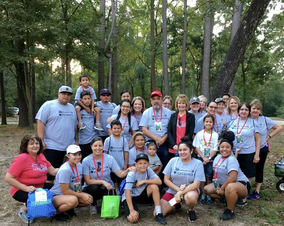 More than 2,000 walkers converged on the Lone Star College-Kingwood campus to raise money for the American Heart Association to combat the number one and number five killers of all Americans �