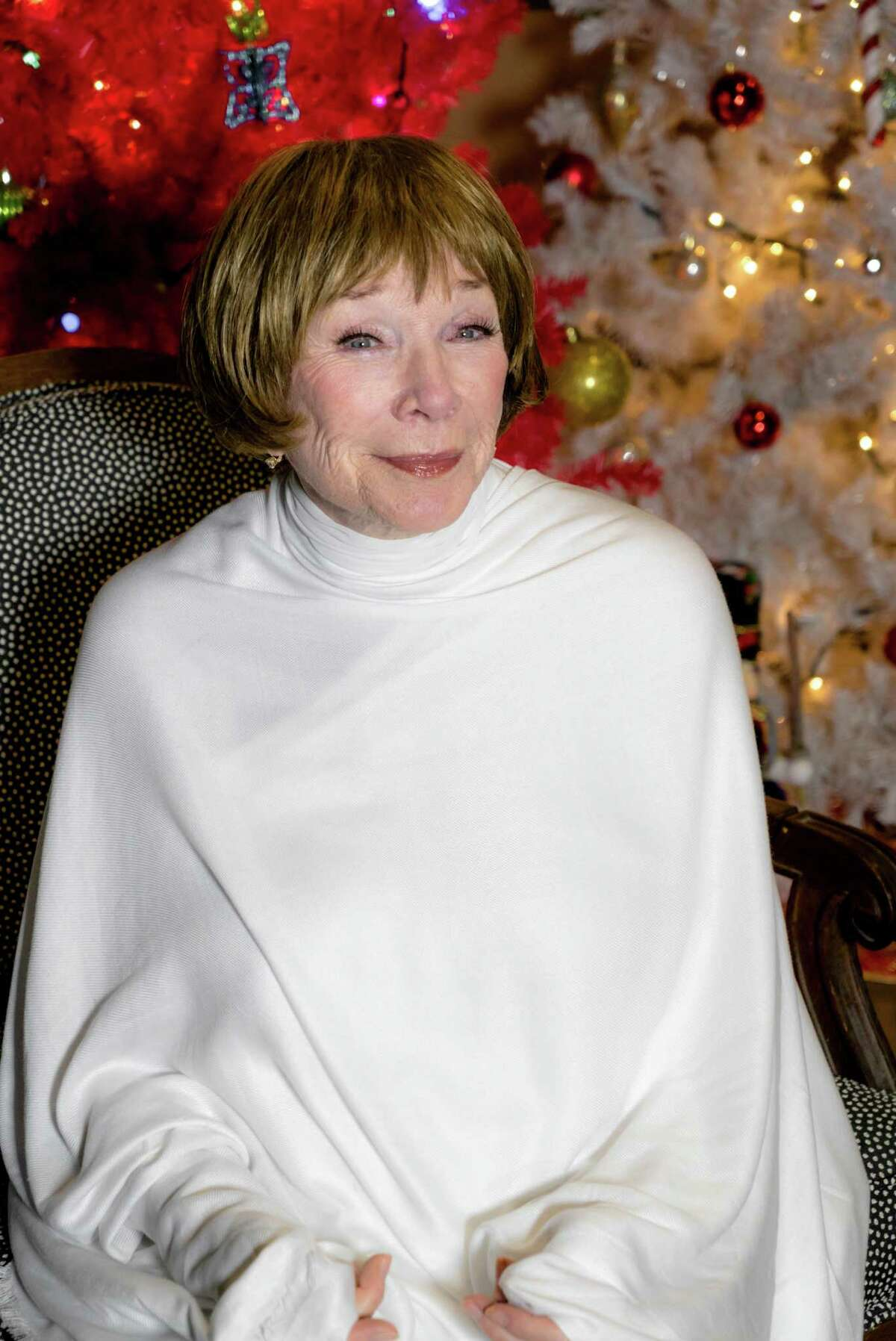 Actress Shirley MacLaine plays a