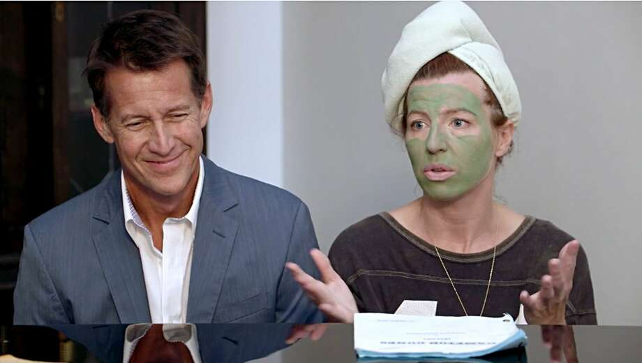 "James Denton and Tanna Frederick appear in Henry Jaglom's ""Ovation."" Photo: Rainbow Film Company"