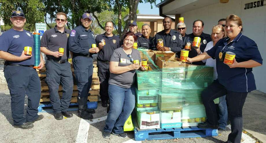 Judson Isd Collects Canned Yams For Annual Dinner San