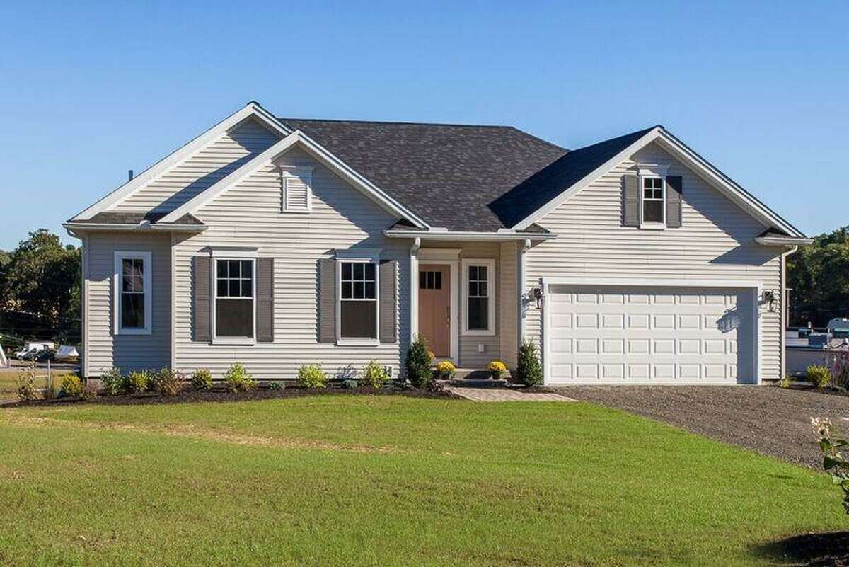 A home in Derby's Singer Village, Connecticut?'s first zero-energy ready housing subdivision.
