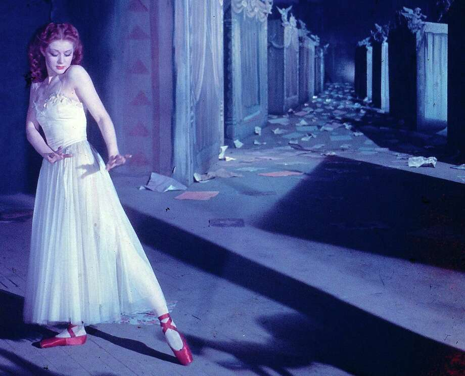 "Moira Shearer stars in Michael Powell and Emeric Pressburger's ""The Red Shoes"" (1948)."