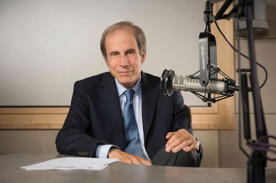 """Michael Krasny, the """"Forum"""" host and English professor, has written a book about Jewish jokes. Photo: KQED"""