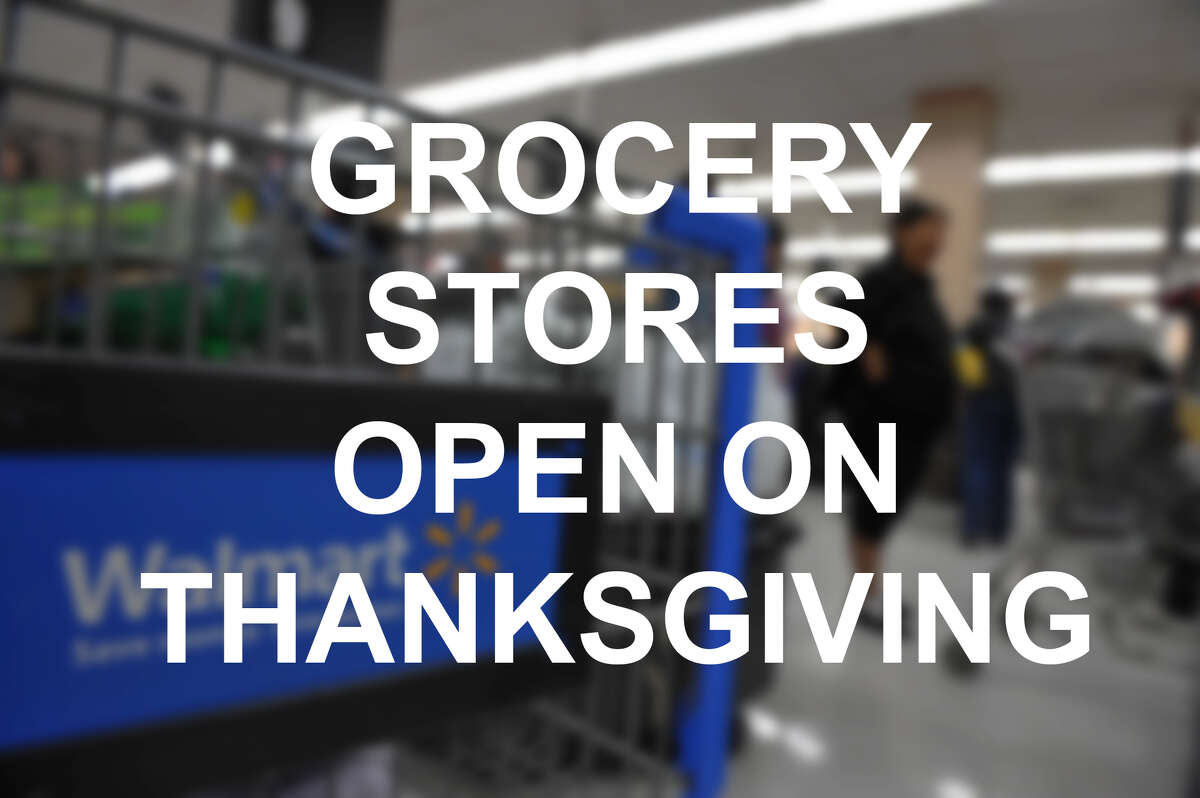 Grocery Stores open on Thanksgiving Day