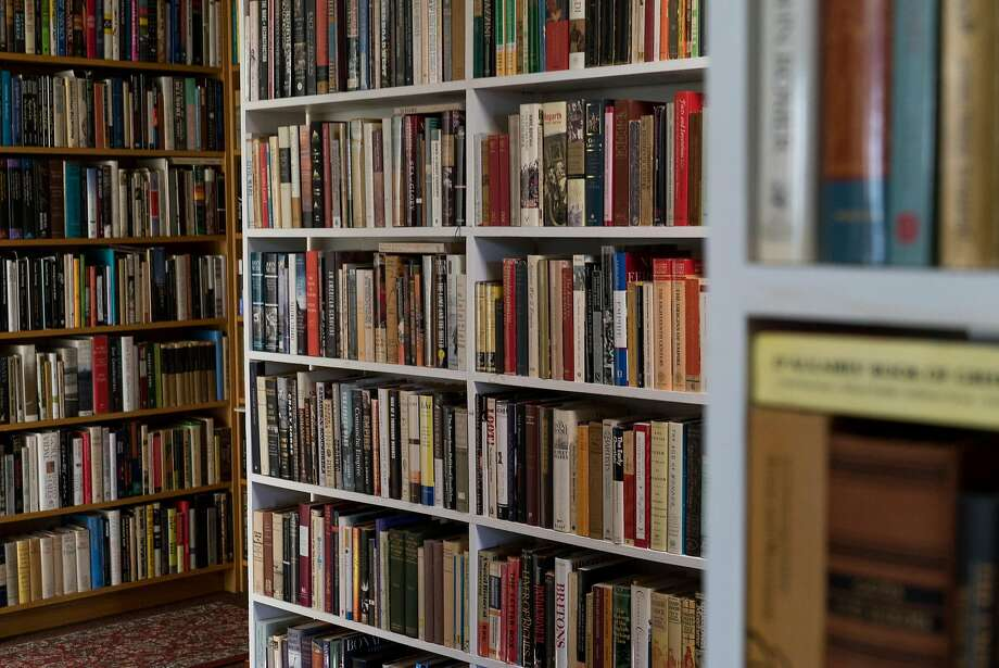 Heyday Books features more than 15,000 books from Publisher Steve Wasserman's private collection in Berkeley. Photo: James Tensuan, Special To The Chronicle
