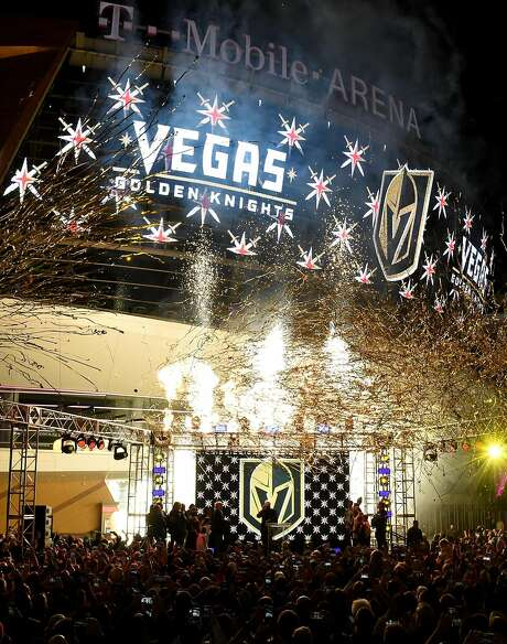 The Vegas Golden KNights have proved to be a big success in its rookie year as a franchise. Other cities are eager to join the NHL as well. Photo: Ethan Miller, Getty Images