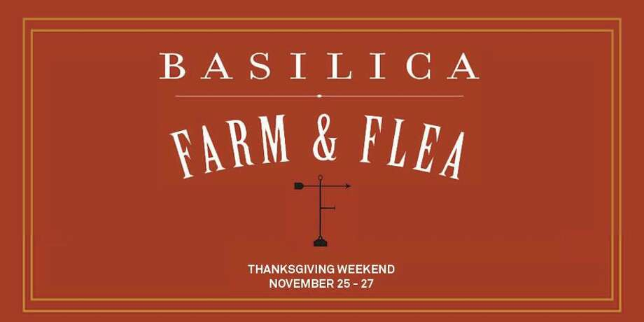 Basilica Farm & Flea Holiday Market.Part timeless flea and farmer's market and part 21st century craft and design fair, this holiday market showcases the wealth and splendor of the Hudson Valley's artisanal talents. The market features a diverse group of regional vendors selling their wares alongside locally-sourced, farm-fresh foods. When: Friday, Nov. 25 - Sunday, Nov. 27. Where: Basilica Hudson, 110 S Front St., Hudson. For more information, visit the website. Photo: Basilica Hudson