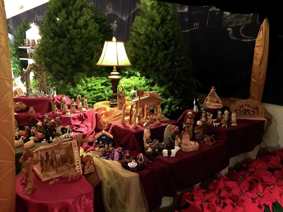 Hundreds of nativity sets from around the world will be featured with live music, poinsettias trees on display and an Old Bethlehem setting in an event that has become a community tradition.