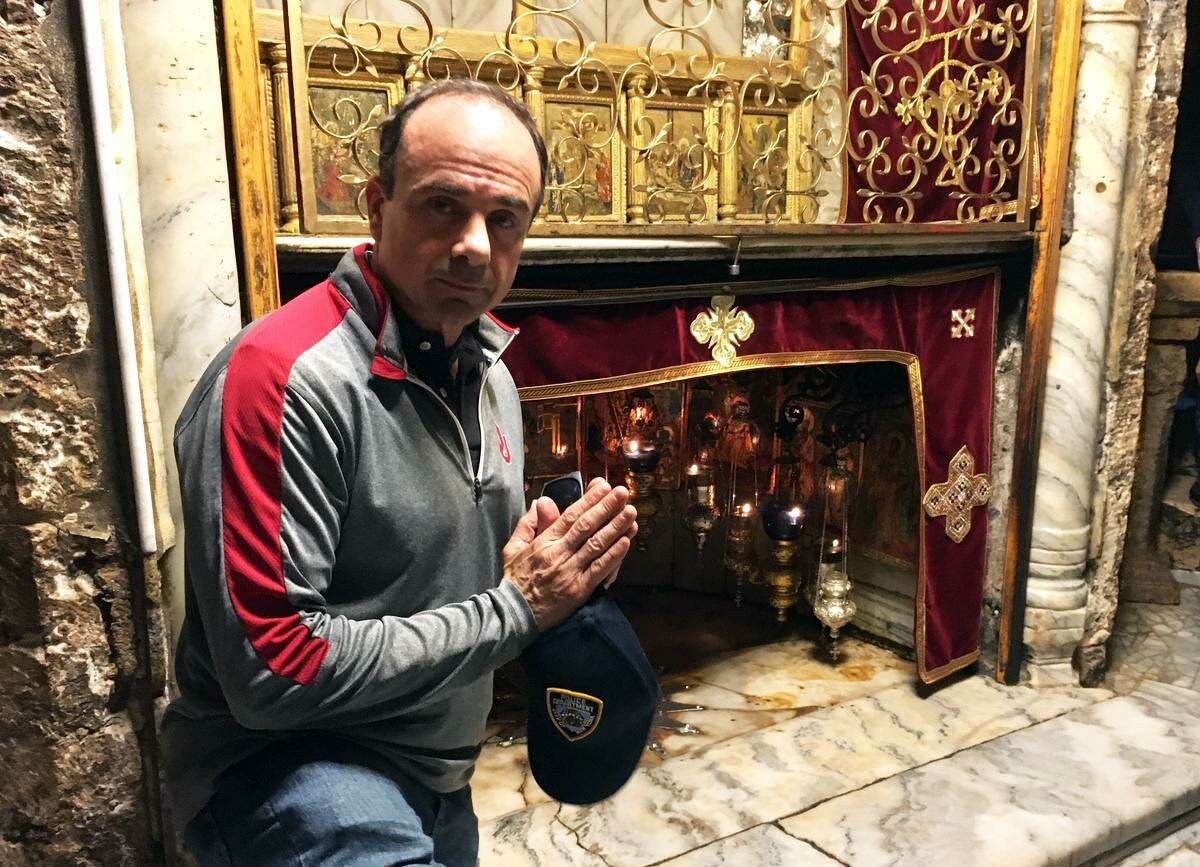 Bridgeport Mayor Joseph Ganim recently spent a week in Israel representing the city. Among Ganim?'s stops was Bethlehem.