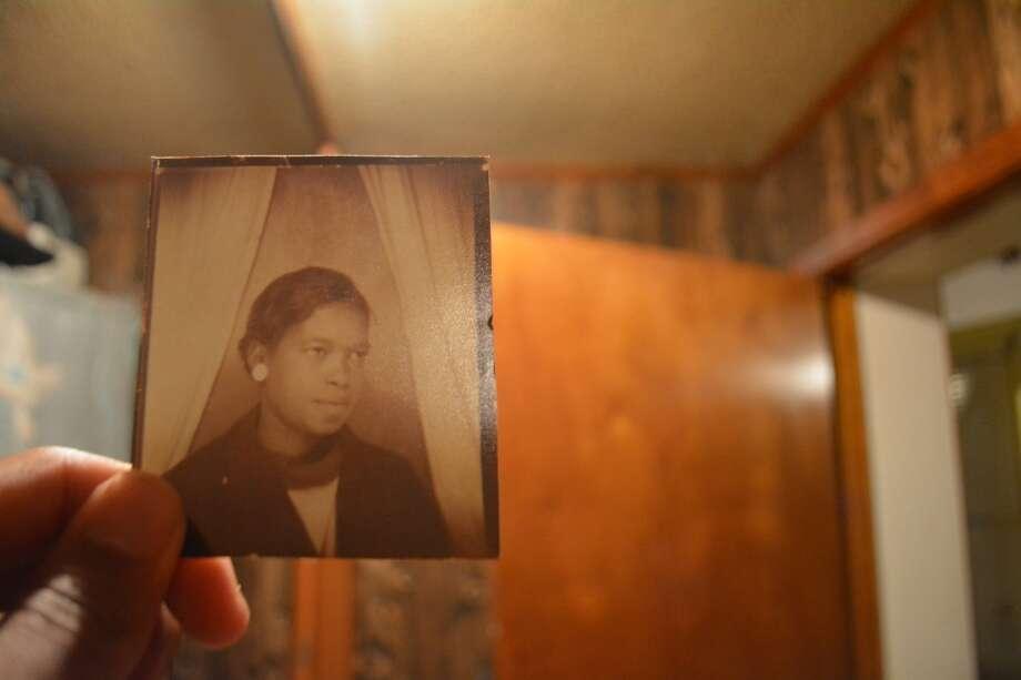 A photo of my great-grandma, Callie Epinger. Photo: John D. Harden, Houston Chronicle