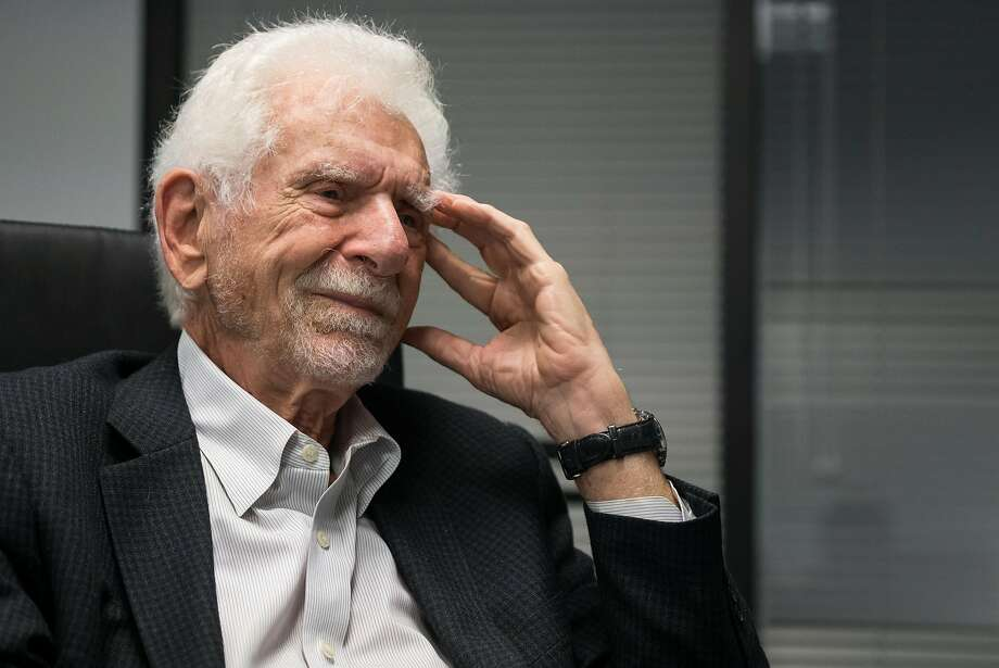 Marty Cooper helped bring cell phones to humanity. Photo: James Tensuan, Special To The Chronicle