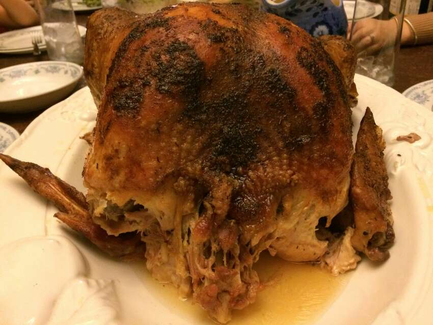 Sun-Kissed Feast Some holiday chefs take extreme measures to please all guests. A caller was e-mailed a photo featuring a turkey with a