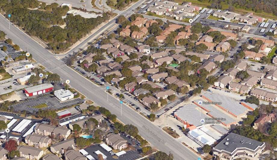 Comunidad Realty Partners of San Diego bought the City Heights apartment complex on Fredericksburg Road next to USAA's headquarters. The complex was assessed at $12 million this year. Photo: Google Maps