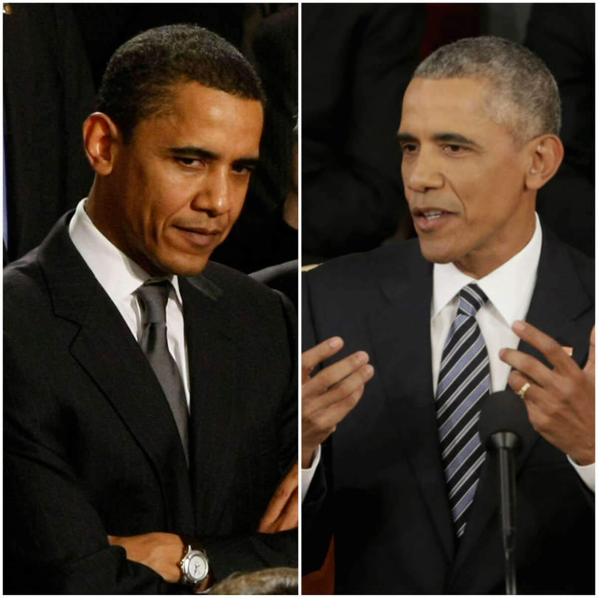 For the past 8 years, the American people have watched President Barack Obama age.