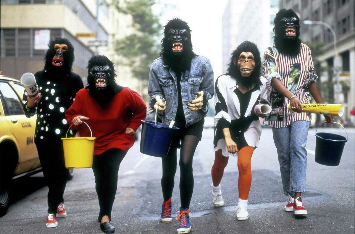 Members of the Guerrilla Girls will explore racism and gender inequality in the art world Wednesday, Dec. 7, at the Bruce Museum, 1 Museum Drive, Greenwich.