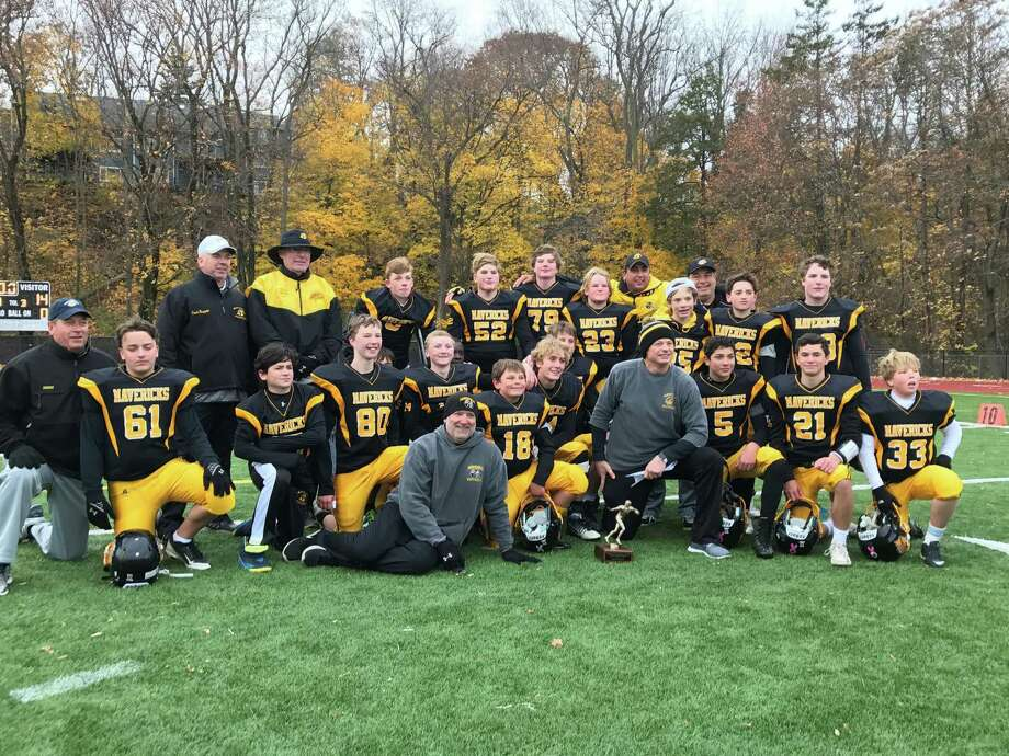 The Gleville Mavericks are the GYFL Senior Division champions. Nov. 2016 Photo: Contributed Photo / Contributed Photo / Greenwich Time Contributed