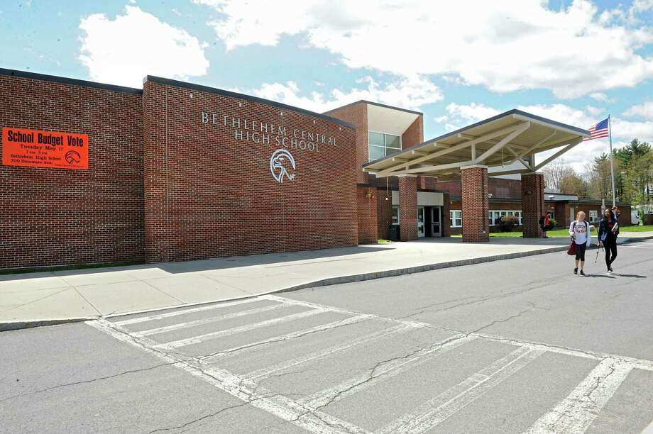 Exterior of Bethlehem High School on Monday, May 9, 2016 in Delmar, N.Y. (Lori Van Buren / Times Union) Photo: Lori Van Buren / 20036536A