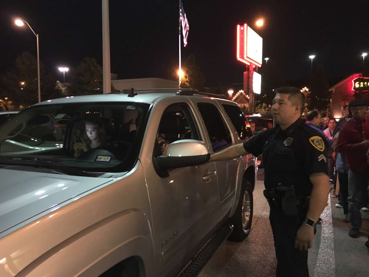 Police were hired to provide security and direct foot traffic as a long line of fans lined up at House of Pies on Kirby on Thanksgiving Eve.