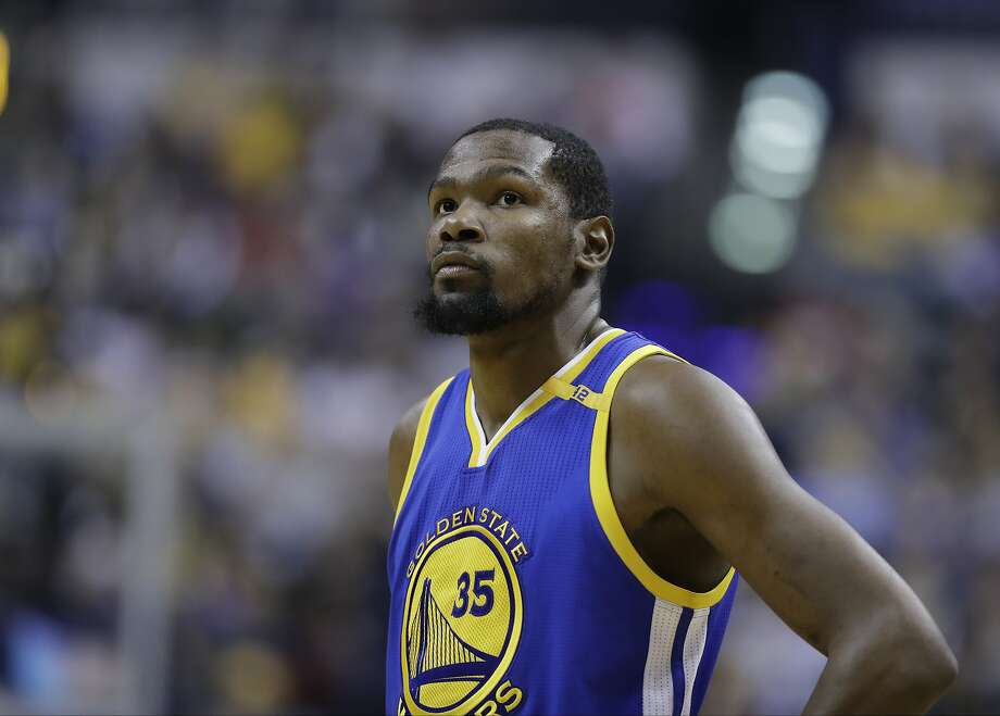 Golden State Warriors' Kevin Durant in action during the second half of an NBA basketball game against the Indiana Pacers, Monday, Nov. 21, 2016, in Indianapolis. Golden State defeated Indiana 120-83. (AP Photo/Darron Cummings) Photo: Darron Cummings, Associated Press