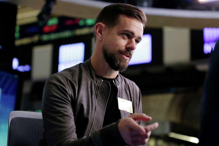 FILE - In this Thursday, Nov. 19, 2015, file photo, Twitter CEO Jack Dorsey is interviewed on the floor of the New York Stock Exchange. Dorsey said Nov. 22, 2016, that the social media platform accidentally suspended his own account. (AP Photo/Richard Drew, File) Photo: Richard Drew, STF / Copyright 2016 The Associated Press. All rights reserved.