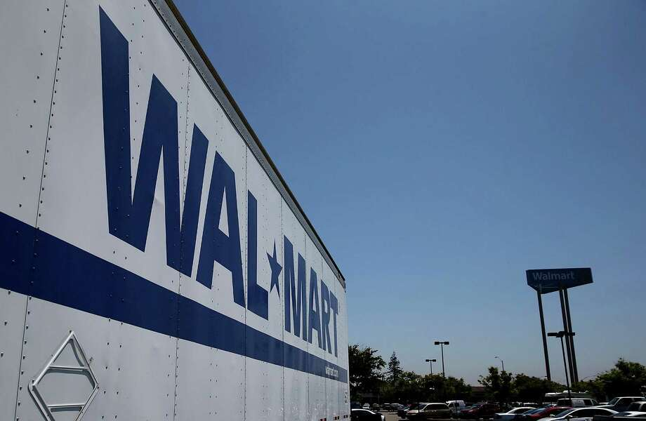 A spokesman for Wal-Mart Stores says the company is likely to appeal the verdict. Wal-Mart says its drivers are among the industry's highest-paid. Photo: Justin Sullivan, Staff / 2015 Getty Images