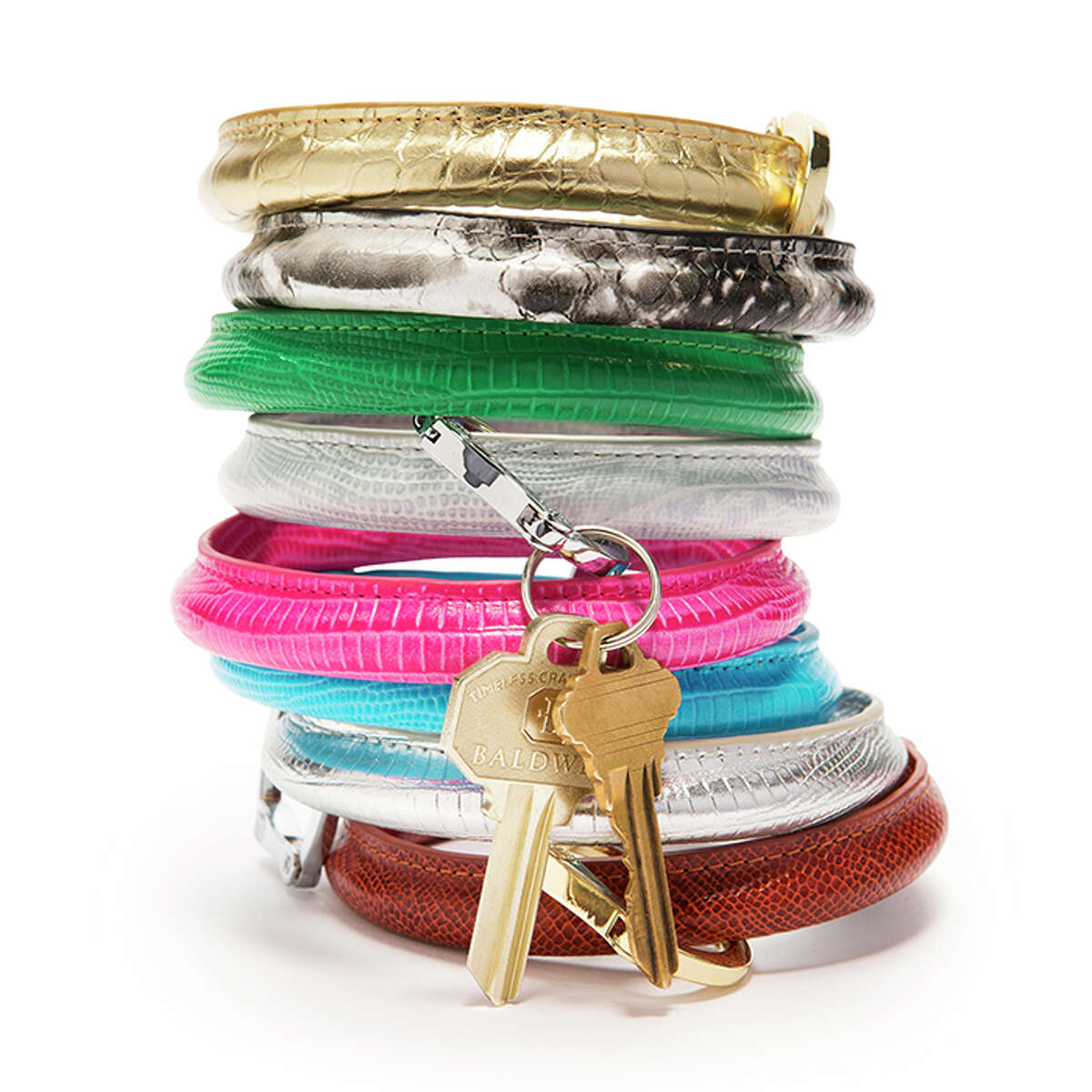 O-VENTURE KEY RING, $28-$55 The O-Venture key ring is the answer for any woman who's thought,
