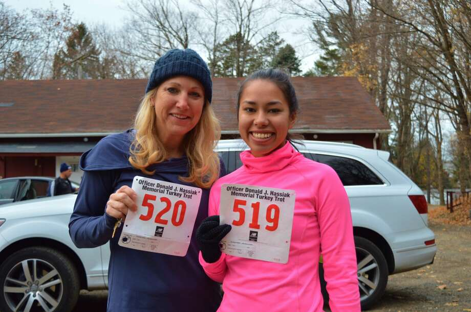 The seventh annual Turkey Trot at Tarrywile Park in Danbury took place on Thanksgiving Day, November 24, 2016. Proceeds from the race benefited the Officer Donald J. Hassiak Memorial Scholarship Fund. Were you SEEN? Photo: Todd Tracy / Hearst Media
