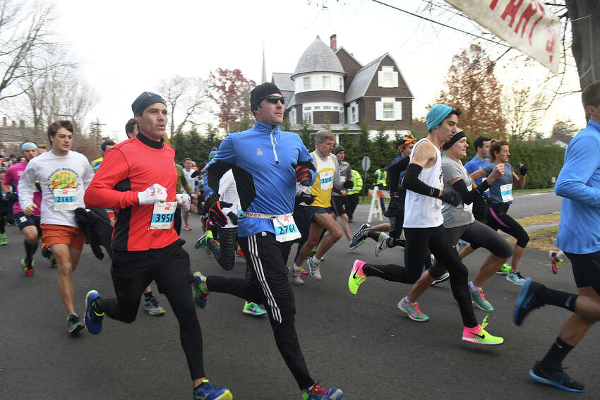 The 39th Annual Pequot Road Race on Thanksgiving Day in Southport, Conn., Nov. 24, 2016.