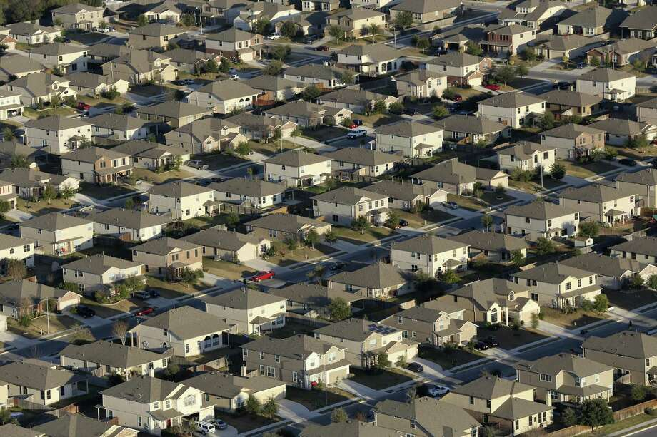 Some legislators say they hear from homeowners that property taxes must be cut. One idea under consideration would require city and county governments to ask the voters each time they want to raise property tax revenue above a certain amount. This is a view of the Riata subdivision in Schertz, taken in February 2016. Photo: Jerry Lara /San Antonio Express-News / © 2016 San Antonio Express-News