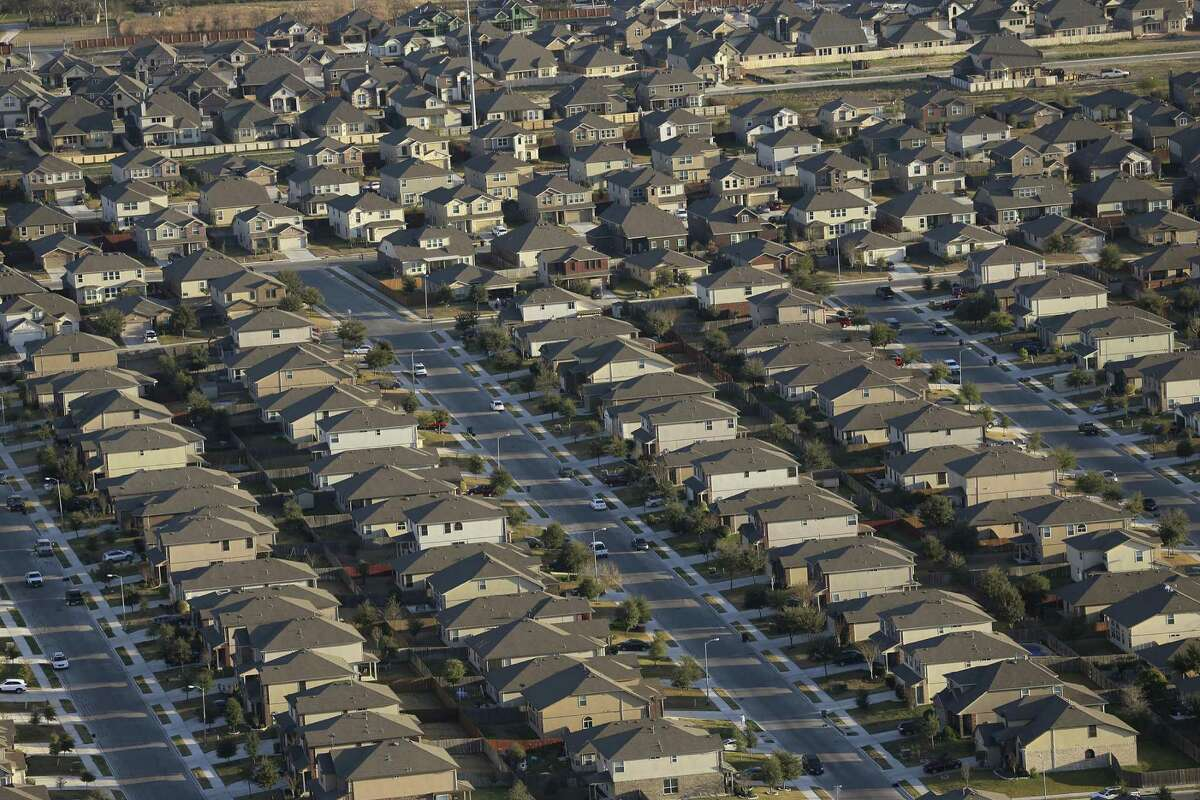 """A view of the Riata subdivision in Schertz, taken in February 2016. Tim Brown, voted into the town's city council in the 2018 Midterm Election, said Schertz """"needs a council that is going to challenge the city staff to save, and determine what are the 'must-haves,' what are 'the wants,' and what are 'the niceties.'"""""""