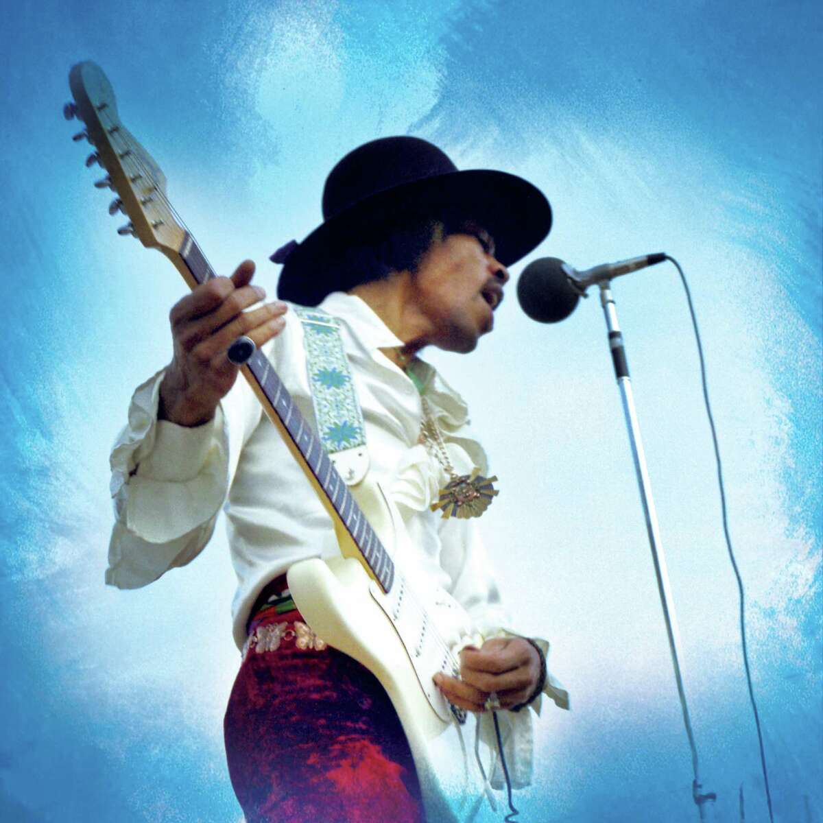Jimi Hendrix Experience performs at the 1968 Miami Pop Festival. Many novices buy guitars to help realize their dreams as rock stars, but lots of guitars end up in storage after a few months, never picked up again.