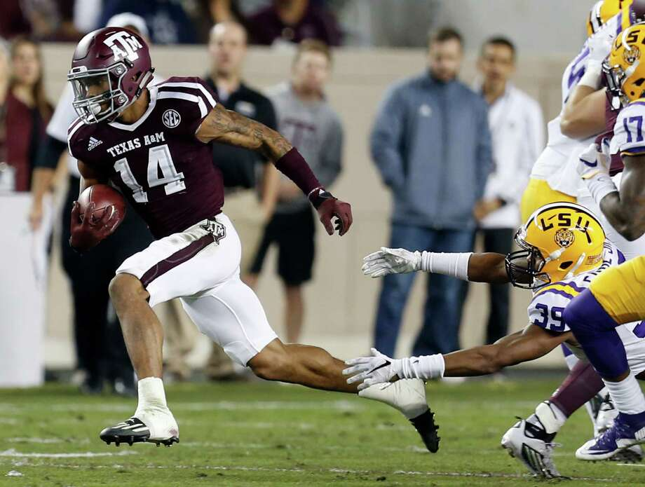 Texas A&M safety Justin Evans went to Tampa Bay in the second round with the 50th pick overall in the NFL draft. Photo: Brett Coomer, Houston Chronicle / © 2016 Houston Chronicle