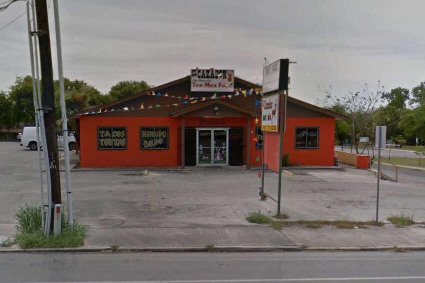 El Cazador: 1026 Cincinnati Ave., San Antonio, Texas 78201Date: 11/22/2016 Score: 73Highlights: Food debris seen inside refrigerator and cold-hold unit, establishment was using