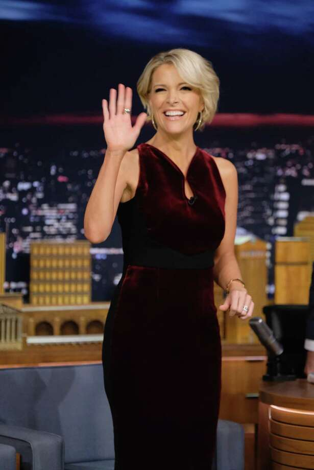"""Megyn Kelly Visits """"The Tonight Show Starring Jimmy Fallon"""" at Rockefeller Center on Nov. 18. In her new book, she writes about sexual harassment. Photo: Theo Wargo /Getty Images / 2016 Getty Images"""