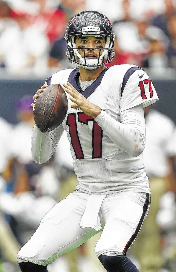 With five games remaining in the regular season, Brock Osweiler is hoping to flip the script and reverse the fortunes of the offense by writing a more promising final chapter. Photo: Karen Warren, Staff Photographer / 2016 Houston Chronicle