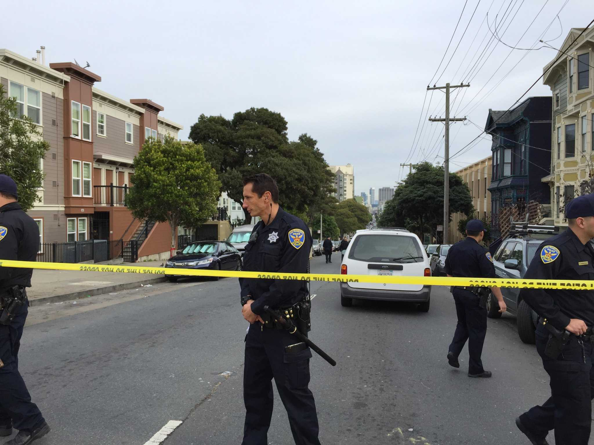 1 man killed, 2 wounded in shooting at SF intersection