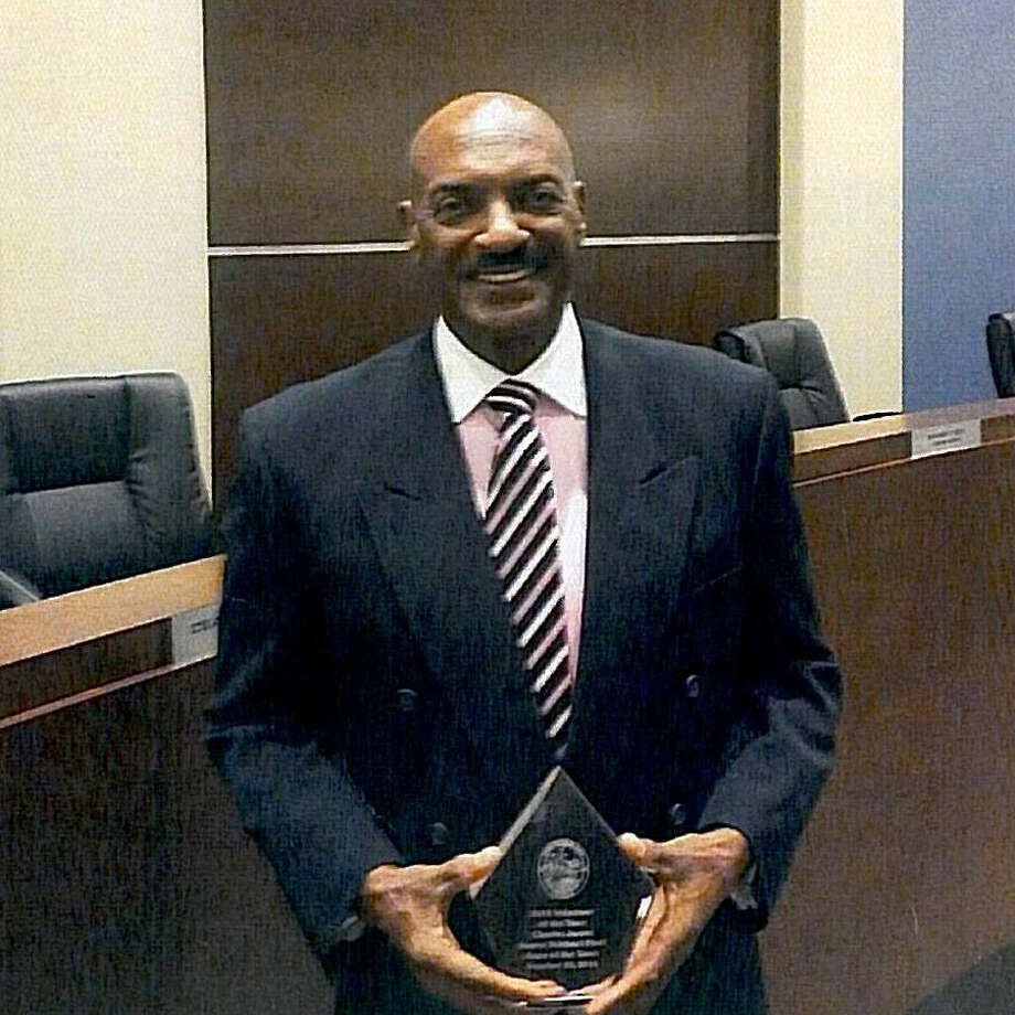 Conroe native, Charles James, received the Volunteer of the Year Award for the town of Miami Lakes, Florida recently.