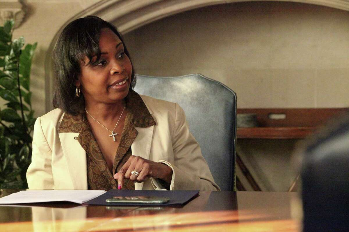 Mayor Ivy Taylor to defend the second private community meeting on the police before Saen editorial board on Wednesday November 16, 2016.