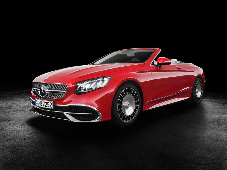 Only 300 of the new Mercedes-Benz Maybach S 650 Cabriolet cruiser will be produced and only 75 are destined for the U.S. The car will cost around $323,000. Photo: Mercedes-Benz