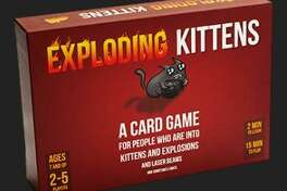 "Exploding Kittens ($19.99 at explodingkittens.com, ages 7+, 2-5 players): Matthew Inman of ""The Oatmeal"" fame teamed up with game designers to bring his webcomic wit to this delightfully quirky card game. Draw cards until you get an Exploding Kitten, which utterly destroys you. Unless you defuse it with a Defuse card that offers kitten therapy or other deflections, or play other cards that can save you with weirdness like a portable cheetah butt, 1,000-year back hair or similar such nonsense that raises the stakes and the lunacy. See? ""Kitty-powered Russian Roulette"" can be fun."