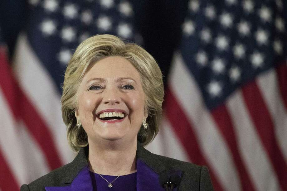 Hillary Clinton speaks in New York on Nov. 9.(AP Photo/Matt Rourke, File) Photo: Matt Rourke / Associated Press / Copyright 2016 The Associated Press. All rights reserved.