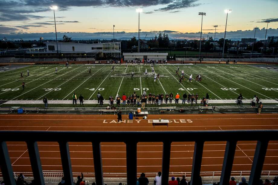 High schools across the Bay Area are deciding the fate of this week's athletic games in light of the ongoing Wine Country wildfires and air quality concerns. Photo: Santiago Mejia, The Chronicle