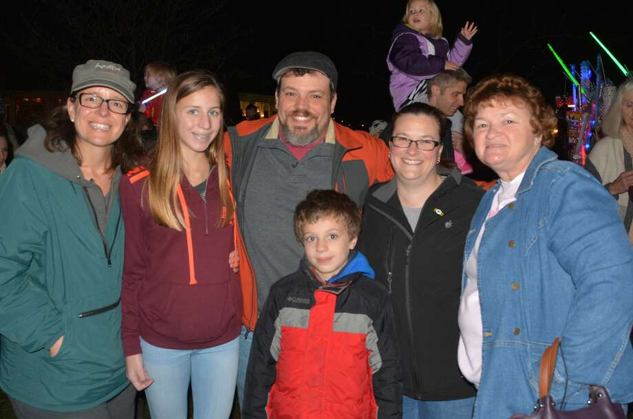 The 2016 Milford Festival of Lights and Tree lighting took place on November 25, 2016. Guests enjoyed holiday music and hot chocolate while they awaited the arrival of Santa by fire truck and the lighting of the Milford green trees. Were you SEEN? Photo: Vic Eng / Hearst Connecticut Media Group