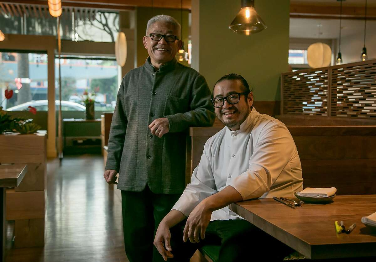 Owner Yoshi Tome and chef Hiroo Nagahara of Nomica in San Francisco, Calif. are seen on November 25th, 2016.