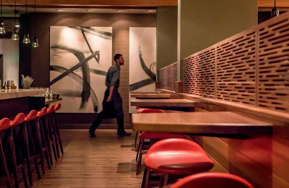 The sleek bar at Nomica in S.F. Photo: John Storey, Special To The Chronicle
