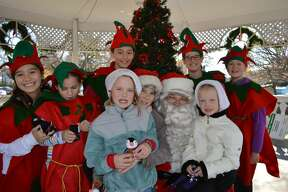 Santa arrived at Sherman Green in Fairfield on November 26, 2016. Families enjoyed horse and wagon rides, a petting zoo, cider and cookies and, of course, a visit with Santa himself. Were you SEEN?
